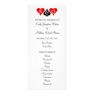 Program för ceremoni för bröllop för Las Vegas