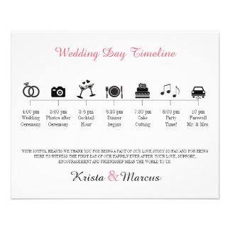 Program för symbolsbröllopTimeline