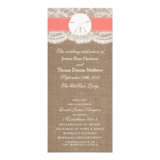 Programen för samling för bröllop för reklamkort
