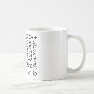Programmera språkmuggen kaffemugg