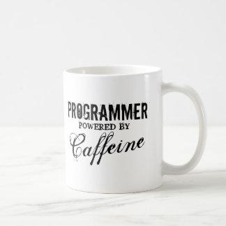 Programmerare driver vid koffeinkaffemuggen kaffemugg