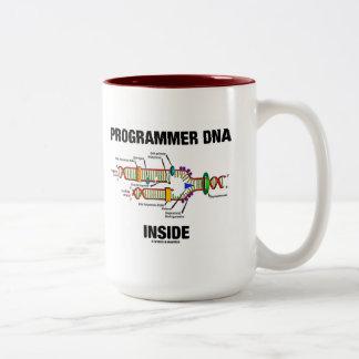 ProgrammerareDNA-insida (DNA-replicationen) Två-Tonad Mugg