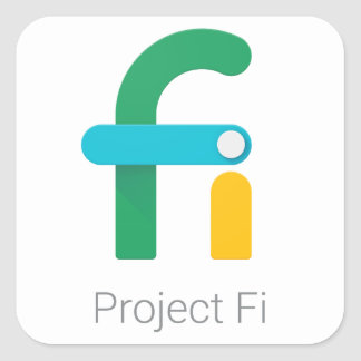 Projektera Fi-klistermärkear/dekal Fyrkantigt Klistermärke