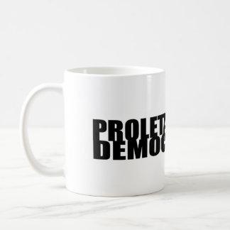 Proletär demokratimugg kaffemugg