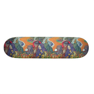 Promenad i Arles Mini Skateboard Bräda 18,7 Cm
