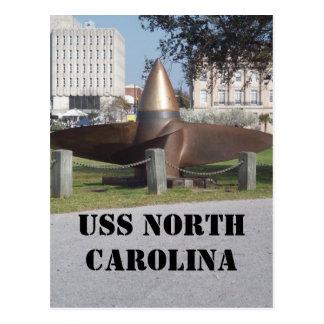propeller av norr USS Vykort