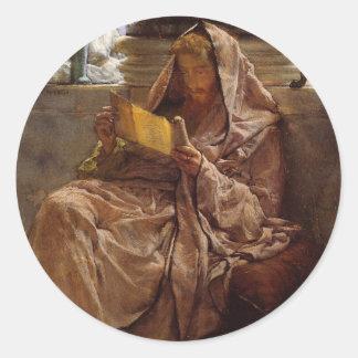 Prosa vid herr Lawrence Alma-Tadema Runt Klistermärke