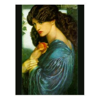 Proserpine av Dante Gabriel Rossetti Vykort