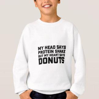 Proteinskaka eller Donuts Tshirts
