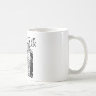 Protest för Teapartyhögaffel Kaffemugg