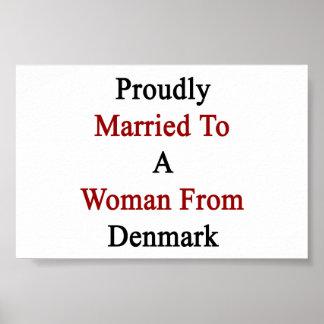 Proudly att gifta sig till en kvinna från Danmark Poster