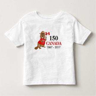 Proudly kanadensisk årsdag för bäver 150 t shirt