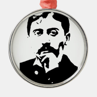 Proust Rund Silverfärgad Julgransprydnad