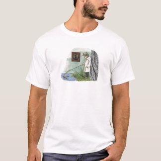 Pröva att fånga någon kurage (surrealistisk t-shirts