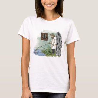 Pröva att fånga någon kurage (surrealistisk tee shirts