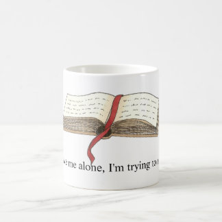 """""""Pröva att läsa"""" muggen Kaffemugg"""