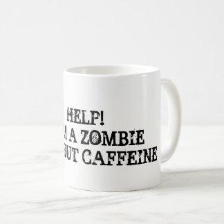 Pröva stag fokuserat utan ett kaffe kaffemugg