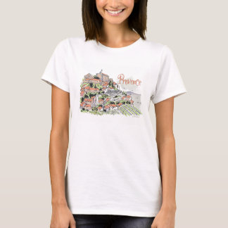 Provence Gordes t - skjorta Tee