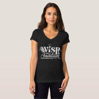 Provkrönikor - kvinna snitt tee shirt