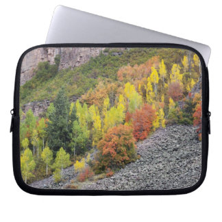 Provo flod- och aspenträd 10 laptop sleeve