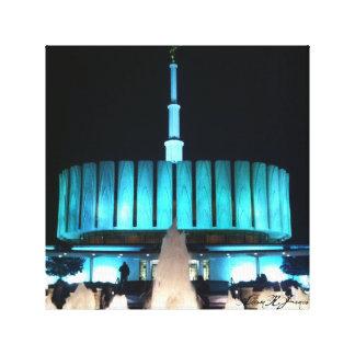 Provo tempel canvastryck