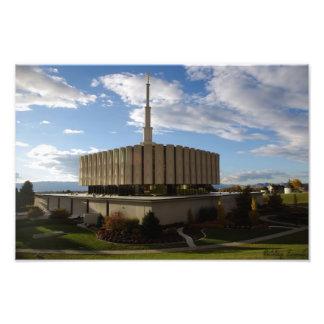 Provo tempel fototryck