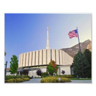 Provo Utah LDS tempel Fototryck