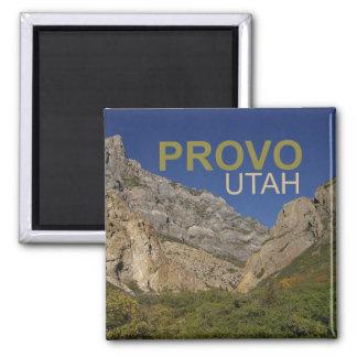 Provo Utah reser magneten för fotosouvenirkylen Magnet