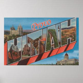 Provo UtahLarge brev ScenesProvo, UT 2 Poster