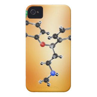 Prozac. Molekylärt modellera av lyckodrogen iPhone 4 Skydd