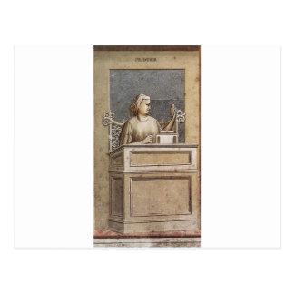 Prudence vid Giotto Vykort