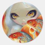 """""""Prydd med ädelsten fisk:  Silver- och guld"""" klist"""