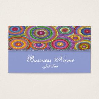 Prydd med pärlor färgelegantvisitkort visitkort