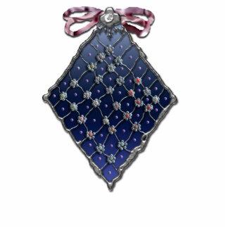 prydd med pärlor glass diamant
