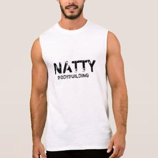 Prydlig Bodybuilding Ärmlös T-shirt