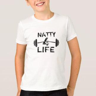 Prydlig logotypbära för 4 liv tshirts