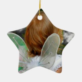 Prydnad för ängelstjärnahelgdag - jjhelene julgransprydnad keramik