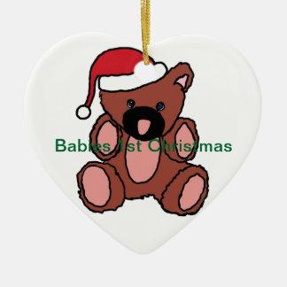 Prydnad för babyar julgransprydnad keramik