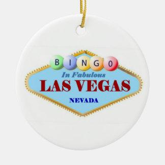 Prydnad för Bingospelarejul Julgransprydnad Keramik