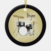 Prydnad för Drumset personligjul Juldekoration