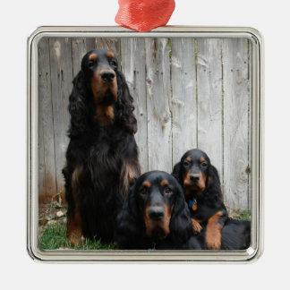 Prydnad för foto för generationer för Gordon Julgransprydnad Metall