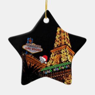 Prydnad för god julLas Vegas mycket liten mus Juldekoration