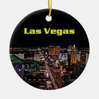 Prydnad för god julLas Vegas remsa Julgranskulor