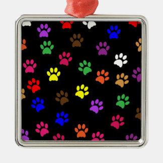 Prydnad för hundar för kärlek för husdjur för julgransprydnad metall