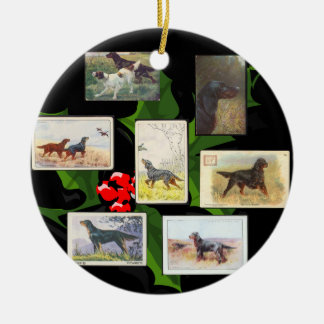 Prydnad för jul för kort för cigarett för Gordon Julgransprydnad Keramik