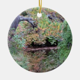 Prydnad för Maine Azaleaträdgård Julgransprydnad Keramik