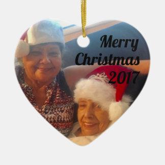 Prydnad för mormor julgransprydnad keramik