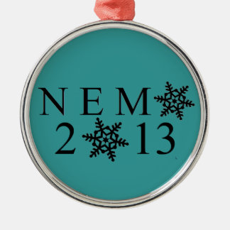Prydnad för NEMO 2013 Julgransprydnad Metall