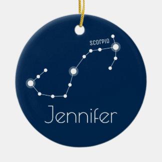 Prydnad för personligScorpiokonstellation