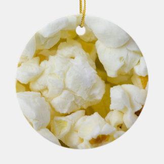 Prydnad för Popcornbolljul Julgransprydnad Keramik